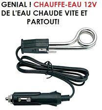 A AVOIR DANS LA BOITE A GANTS CHAUFFE-EAU ELECTRIQUE 12V DE L'EAU CHAUDE EN 1MN