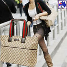 Lady Brown Handbag Women Shopper Tote Casual Shoulder Bag CSBAG1001