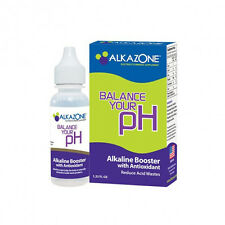 3-Pack of Alkazone Alkaline Booster with Antioxidant ~1.25 Fl Ounce Bottle