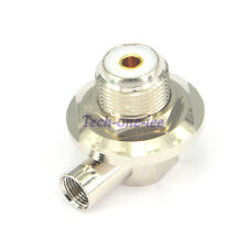 SO239 UHF Female Jack to FME Connector Male Plug Adapter Right Angle Coax