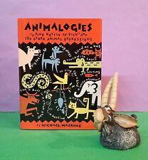M Macrone: Animalogies/English language/etymology/animals/folklore/HBDJ