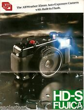 Camera Brochure - Fuji - HD-S Fujica - All-Weather - c1980 (CB73)