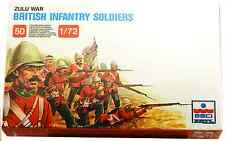 ESCI ERTL # 212 - 1/72 scale Zulu War British Infantry Soldiers - mint boxed set