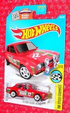 2016 Hot Wheels Speed Graphics '70 Ford Escort RS1600  #185 DHP97-D9B0F