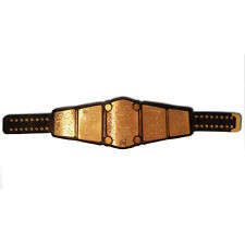 North American Mid South Championship Replica Belt - Golden Brass Metal Plates