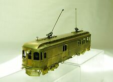 SUYDAM HO BRASS SACRAMENTO NORTHERN #125 NILES WOOD INTERURBAN COMBINE BERRY CAR
