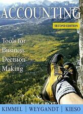 Accounting : Tools for Business Decision Making by Donald E. Kieso, Paul D. Kimm