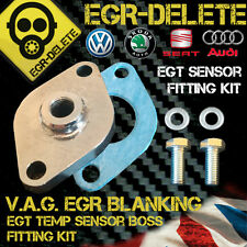 EGR BLANKING PLATE EGT SENSOR FITTING KIT VW Golf Passat Polo 1.4 1.9 2.0TDI