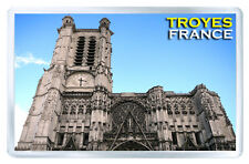 TROYES FRANCE MOD2 FRIDGE MAGNET SOUVENIR IMAN NEVERA