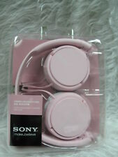 Sony MDR-ZX110 Stereo Headphones Pink Colour