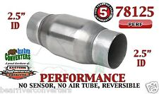 "Eastern Universal Catalytic Converter Performance 2.5"" Pipe 4.75"" Body 78125"
