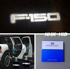 2 Projector emblem Logo Ghost Courtesy Door Step LED Light fit for Ford J14 F150