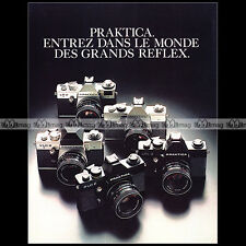 PRAKTICA LB-2 VLC 2 PLC 2 LTL 3 APPAREIL PHOTO REFLEX 1977 - Pub / Ad #A1533