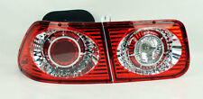 Honda Civic 96-00 2dr Coupe Jaguar Red Clear Rear Altezza Tail Lights PAIR RH LH