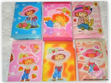 STRAWBERRY SHORTCAKE Party Favor Loots WALLET FAvors Birthday Treats Bag x12 Kid