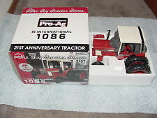 ERTL 1/16 IH INTERNATIONAL HARVESTER 1086 SE TTT TRACTOR 21ST ANNIV