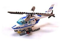 Lego 7741 City World Town Police Helicopter complet de 2008