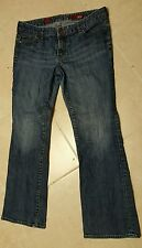 X2 Women's Stella Boot Quality Denim Size 12A 10W Blue Jeans