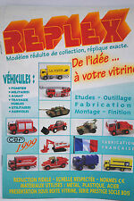 Original 12 Pages 1999 CEF REPLEX Catalogue Trucks, Military & Farm Models VGC
