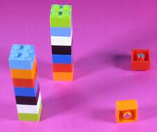 10 Kühlschrankmagnete LEGO für Pinnwand, Kühlschrank oder Magnettafel, Neodym