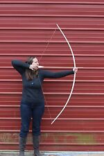 """Handcrafted Traditional English Style longbow made of hickory 40lbs  @28"""""""