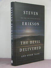 1st, signed by author,The Devil Delivered and Other Tales, Steven Erikson (2012)