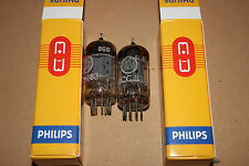 2x Strong and Matched ECC83 12AX7 I63 Philips Valvo Premium Vintage Tubes
