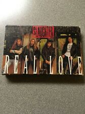 Slaughter Real Love / She Wants More cassette single 1992 Kiss Ozzy Ratt Winger