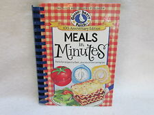 """1st Printing 2012 Gooseberry Patch """"Meals in Minutes"""" Hardcover Cookbook ~ New!"""