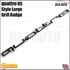 QUATTRO GRILLE BADGE LATEST 2017 EMBLEM Audi s3 s4 s5 rs rs3 rs4 rs5 rs6 sline b