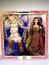 NIB BARBIE DOLL 2000 MERLIN & MORGAN LE FAY THE MAGICIAN ENCHANTRESS MAGIC