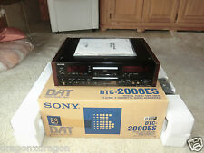 Sony DTC-2000ES High-End DAT-Recorder, 2-Head Version, OVP&NEU, 2J.Garantie