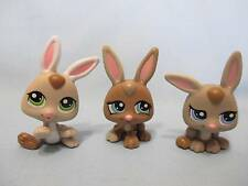 Littlest Pet Shop Lot Petriplets Baby Bunny Rabbit #1332 1333 1334 Triplets y1