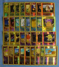 Lot de 33 cartes Pokemon Evolution en reverse Complet Commune, Uncommune Neuves