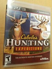 Cabela's Hunting Expeditions (Sony PlayStation 3, 2012)