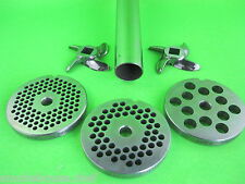 #22 6pc COMBO Meat Grinder Sausage Stuffer plate knife