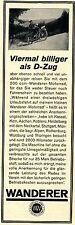 Wanderer Werke Chemnitz 200 ccm WANDERER-MOTORRAD Historische Reklame von 1929