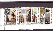 VATICAN - SG1612-1617 MNH 2011 150th ANNIV ITALIAN UNIFICATION