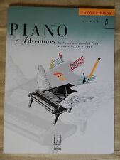Piano Adventures Level 5 Lesson and Theory Books.  LIKE NEW!!