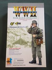 "Dragon 1/6 Scale 12"" WWII German Heer Radio Operator Hermann Stahlschmidt #70374"