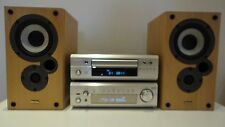 Denon DRA-F101 HiFi Component System Amp CD Tuner + Free Speakers