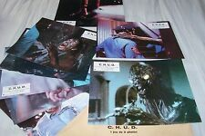 C.H.U.D cannibale humanoide ! jeu photos cinema lobby cards fantastique horreur