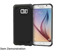 rooCASE Granite Black Exec Tough Hybrid Co-mold Case for Samsung Galaxy S6 RC-SA