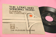 "PLEASURE MACHINE 7"" THE LONG AND WINDING ROAD ORIG ITALY 1970 EX (BEATLES)"