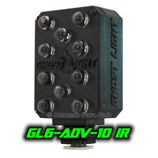 Ghost Light ™ GL6-ADV IR Infrared LED Night Vision Camera Illuminator - Black