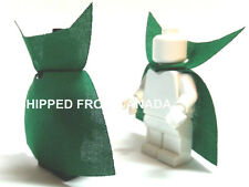 2pcs GREEN VAMPIRE cape Custom clothing cloak accessory for Lego minifigs
