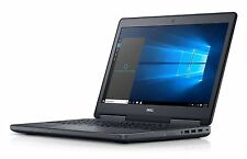 Dell Precision M7510 Laptop i7-6820HQ 256GB SSD 16GB 2GB AMD W5170M FPR 1080P BT