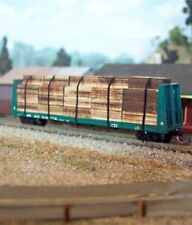 Osborn Models 3070 – Flat Car Lumber Load – N Scale