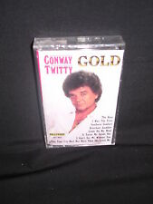 Conway Twitty Gold Hollywood HT-463, Cassette NEW