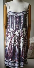 ISABEL MARANT ETOILE TRANI PAISLEY DRESS 2 UK 10